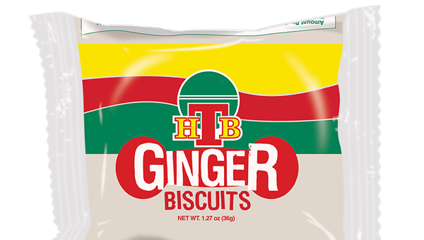 HTB Ginger Biscuits