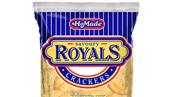 HoMade Savoury Royals - Crackers
